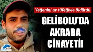Gelibolu'da akraba cinayeti: Yeğenini av tüfeğiyle öldürdü!