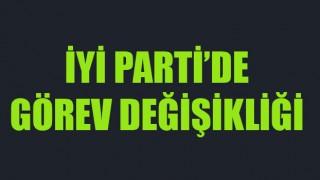 İYİ Parti'de görev değişikliği