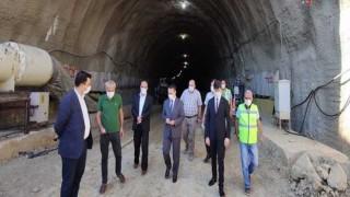 Vali Aktaş, Gelibolu-Eceabat tünellerini inceledi