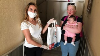 Yeni doğan bebeklerin ilk hediyeleri Çan Belediyesinden