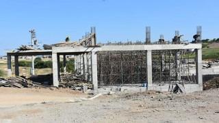 2. Kademe İçmesuyu Arıtma Tesisinin inşaatı sürüyor