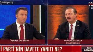 AK Parti ve MHP'den teklif geldi, İYİ Parti Sözcüsü Yavuz Ağıralioğlu aldıkları kararı açıkladı