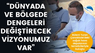 """Bülent Turan: """"Dünyada ve bölgede dengeleri değiştirecek vizyonumuz var"""""""