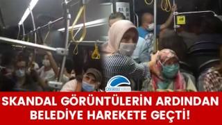 Skandal görüntülerin ardından Çanakkale Belediyesi harekete geçti!