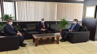 Başkan Öz, Vali Aktaş'ı konuk etti