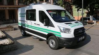 Bayramiç Belediyesine yeni cenaze nakil aracı