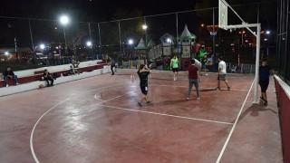 Çan Belediyesi yeni basketbol sahası hizmete girdi