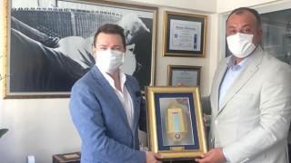 ÇTSO Başkanı Semizoğlu'ndan, Burak Kunt'a tebrik ziyareti