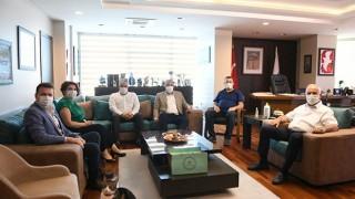 ÇTSO'dan Çanakkale Belediyesine ziyaret