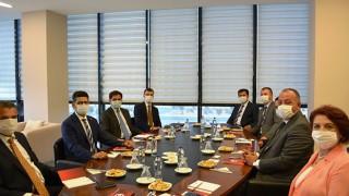 Cumhurbaşkanlığı Yatırım Destek Ofisi'nden, ÇTSO'ya ziyaret