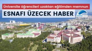 Esnafı üzecek haber: Üniversite öğrencileri uzaktan eğitimden memnun