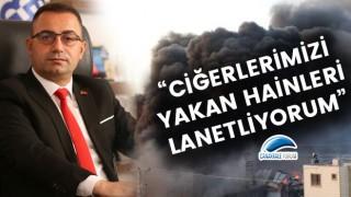 """Başkan Erdoğan: """"Ciğerlerimizi yakan hainleri lanetliyorum!"""""""