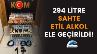 Çanakkale'de 294 litre sahte etil alkol ele geçirildi!
