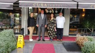 Semizoğlu'ndan Cura Hotel'e ziyaret