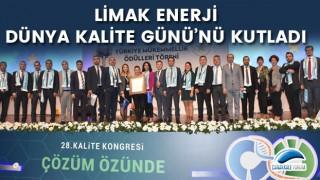 Limak Enerji, Dünya Kalite Günü'nü kutladı