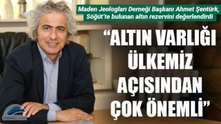 """Ahmet Şentürk yeni altın rezervini değerlendirdi: """"Altın varlığı ülkemiz açısından çok önemli"""""""