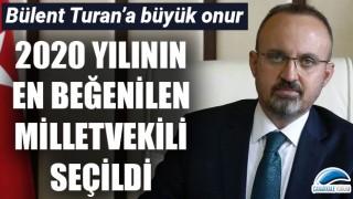 Bülent Turan 'en beğenilen milletvekili' seçildi