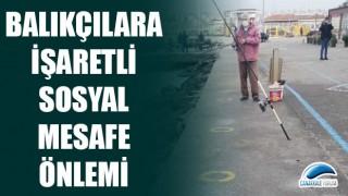 Çanakkale'de balıkçılara işaretli sosyal mesafe önlemi