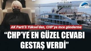 """Esra Yüksel: """"CHP'ye en güzel cevabı Gestaş verdi"""""""