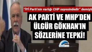 AK Parti ve MHP'den, Ülgür Gökhan'ın sözlerine tepki!