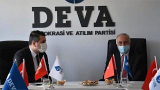 Başkan Gökhan'dan, DEVA Partisi'ne ziyaret