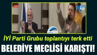 Belediye Meclisi karıştı: İYİ Parti Grubu toplantıyı terk etti!