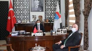 ÇTSO Başkanı Semizoğlu'ndan, Bayramiç Belediye Başkanı Uygun'a ziyaret