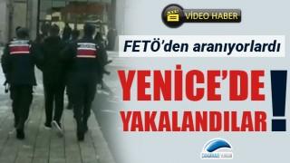 FETÖ'den aranan 3 şüpheli, Yenice'de yakalandı!