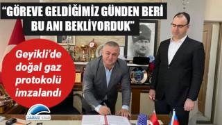 """Mevlüt Oruçoğlu: """"Göreve geldiğimiz günden beri bu anı bekliyorduk"""""""
