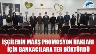 Başkan Erdoğan, işçilerin maaş promosyon hakkı için bankacılara ter döktürdü