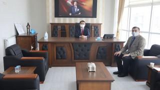 Başkan Öz'den, Vali Aktaş'a ziyaret