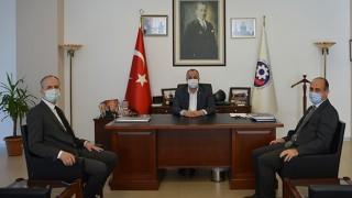 Gençlik ve Spor İl Müdürlüğü'nden, ÇTSO'ya ziyaret
