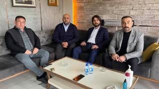 Şaban Kılıçan'a, MHP'den ziyaret