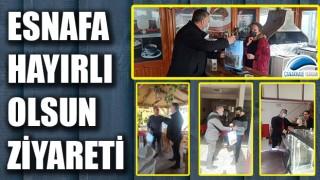 Başkan Bayram'dan esnafa hayırlı olsun ziyareti