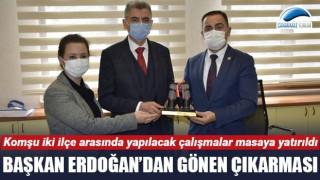 Başkan Erdoğan'dan Gönen'de önemli ziyaretler