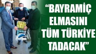 """Başkan Uygun: """"Bayramiç elmasını tüm Türkiye tadacak"""""""