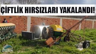 Çiftlik hırsızları yakalandı!
