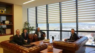 Denizbank Trakya Bölge Müdüründen, ÇTSO'ya ziyaret