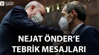 AK Parti'den Nejat Önder'e tebrik mesajları