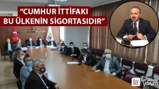 """Bülent Turan: """"Cumhur İttifakı bu ülkenin sigortasıdır"""""""