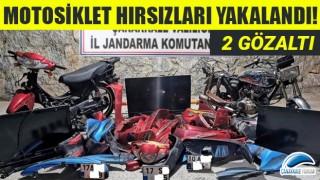 Motosiklet hırsızları yakalandı: 2 gözaltı