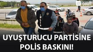 Uyuşturucu partisine polis baskını!