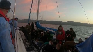 Ayvacık açıklarında 29 düzensiz göçmen kurtarıldı