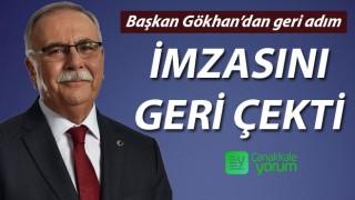 Başkan Gökhan'dan geri adım: Alkol satış yasağı kararından imzasını geri çekti