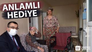 Başkan Öz'den Engelliler Haftası'nda anlamlı hediye