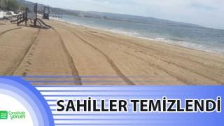 Çanakkale'de sahiller temizlendi