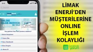 Limak Enerji'den müşterilerine online işlem kolaylığı