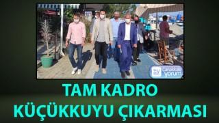 AK Parti'den tam kadro Küçükkuyu çıkarması