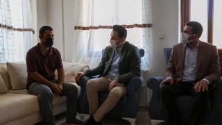 Başkan Makas'tan acılı aileye taziye ziyareti