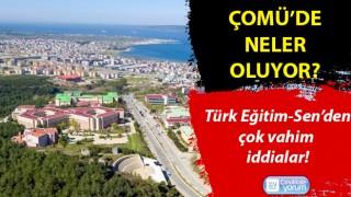 ÇOMÜ'de neler oluyor? Türk Eğitim-Sen'den çok vahim iddialar!